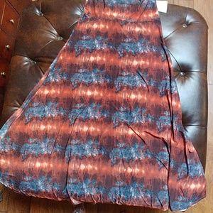 Lularoe M maxi skirt